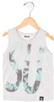 Molo Boys' Rupert Graphic Print Shirt