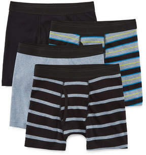 Arizona 4 Pair Boxer Briefs Big Kid Boys