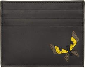 Fendi Black Butterfleyes Card Holder