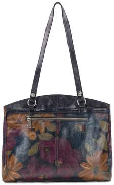 Patricia Nash Peruvian Painting Collection Poppy Tote