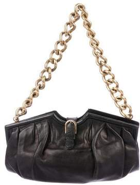 Jimmy Choo Chain-Link Leather Shoulder Bag