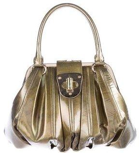Alexander McQueen Patent Leather Novak Bag