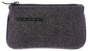 Prada Wool Cosmetic Bag