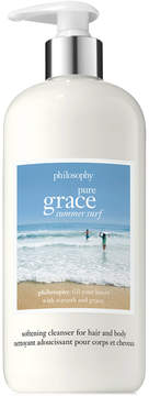 philosophy Pure Grace Summer Surf Softening Cleanser For Hair And Body, 16 oz