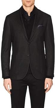 Boglioli Men's K Jacket Cotton Jersey Two-Button Sportcoat