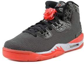 Jordan Aj Spike Forty Bg Youth Round Toe Synthetic Black Basketball Shoe.