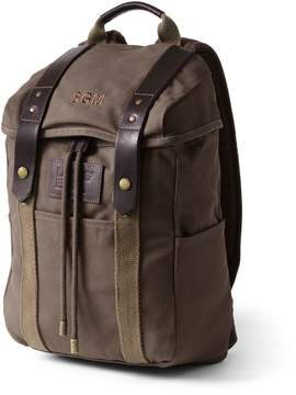 Lands' End Lands'end Waxed Canvas Backpack