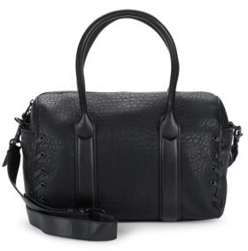 Faye Textured Crossbody Satchel