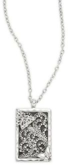 Lois Hill Butterfly Pendant Necklace