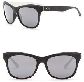 GUESS 55mm Square Sunglasses