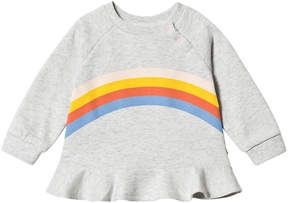 Molo Light Grey Melange Dora Sweatshirt