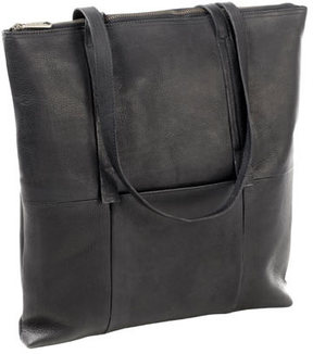 Women's CLAVA Vertical Leather Nana Tote