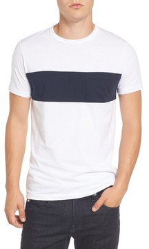 French Connection Men's Colorblock Pocket T-Shirt
