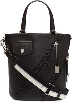 DKNY Jagger Leather Bucket Crossbody