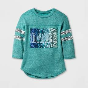 Miss Chievous Girls' Long Sleeve T-Shirt - Blue