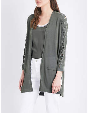Claudie Pierlot Marco knitted cardigan