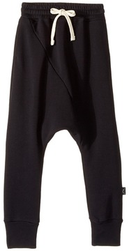 Nununu Diagonal Baggy Pants (Little Kids/Big Kids)