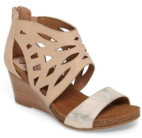 Sofft Women's Mystic Perforated Wedge Sandal