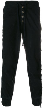 Greg Lauren tassel trousers