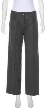 Matthew Williamson Mid-Rise Wool Pants