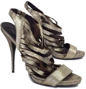 Elizabeth and James Jan Metallic Leather Strappy Sandals