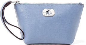 Ralph Lauren Lauren Leather Cosmetic Wristlet