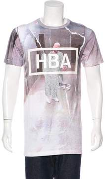 Hood by Air Graphic Print Oversize T-Shirt