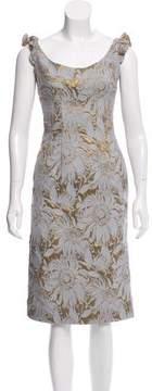 Brock Collection Sleeveless Brocade Dress