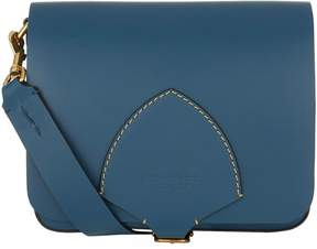 Burberry Small English Satchel - BLUE - STYLE
