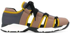 Marni cut out sneakers