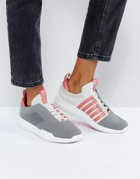 K-Swiss Generation K Icon Knit Sneakers In Gray