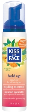 Kiss My Face Hold Up Easy Hold Styling Mousse
