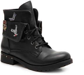 Rock & Candy Women's Deane Combat Boot