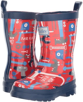 Hatley Lots of Tools Rain Boots Boys Shoes