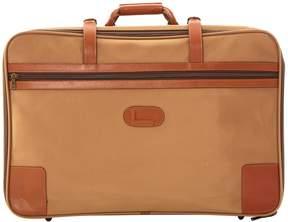 Lancel Beige Cloth Travel Bag