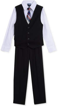 Nautica 4-Pc. Shirt, Vest, Pants & Tie Set, Toddler Boys (2T-5T)