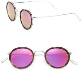 Lanvin Matti 46MM Oval Sunglasses
