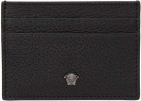 Versace Black Small Medusa Card Holder