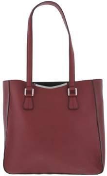 Calvin Klein Womens On My Corner Leather Shoulder Tote Handbag