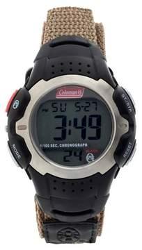 Coleman Men's Digital Sportwrap Watch - Tan