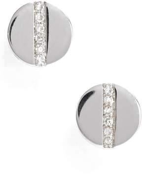 Ef Collection Women's Screw Diamond Stud Earrings