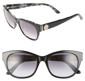 Juicy Couture Women's Black Label 53Mm Gradient Sunglasses - Black Havana