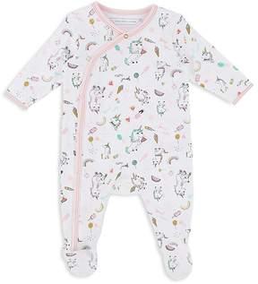 Little Marc Jacobs Girls' Unicorn-Print Footie - Baby