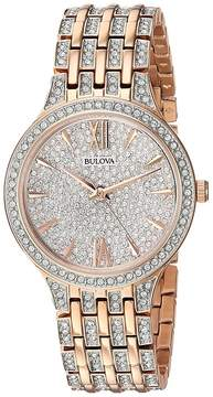 Bulova Pave Crystals - 98L235 Watches