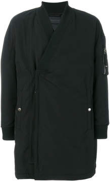 Diesel Black Gold oversized reconstructed coat