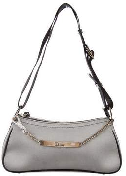Christian Dior Woven Shoulder Bag