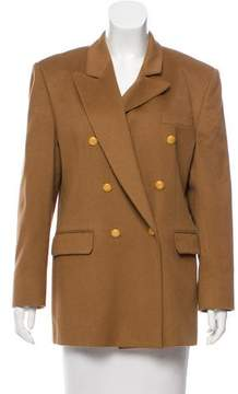 Aquascutum London Textured Double-Breasted Jacket