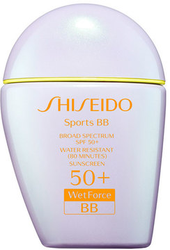 Shiseido Sports BB Broad Spectrum SPF 50+ WetForce, Light, 30 mL