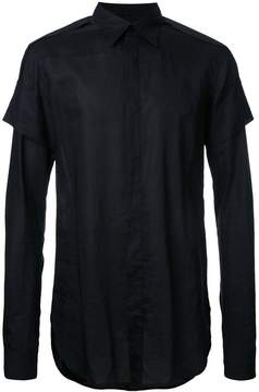 Julius layered sleeve shirt