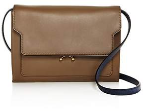 Marni Trunk Mini Leather Crossbody